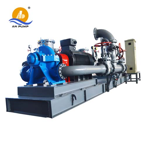 diesel split case water pump