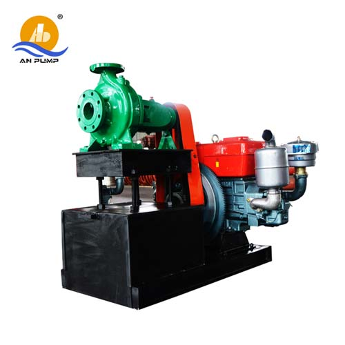 Diesel-Engine End Suction Water-Pump-Sets